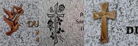 Lápidas para columbarios