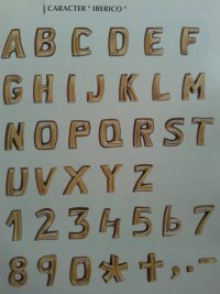 inscripciones iberico